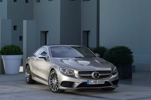C217 Mercedes-Benz S-Class coupe - front, silver