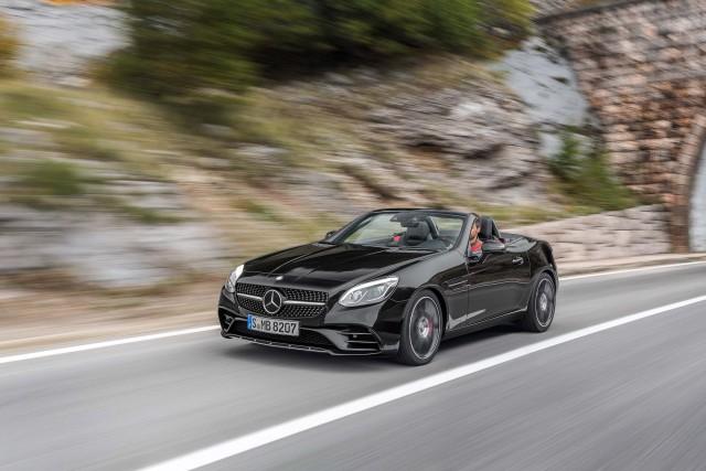 R172 Mercedes-Benz SLC43 AMG - front