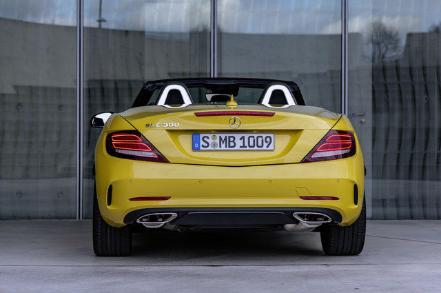 2019 Mercedes-Benz SLC Final Edition