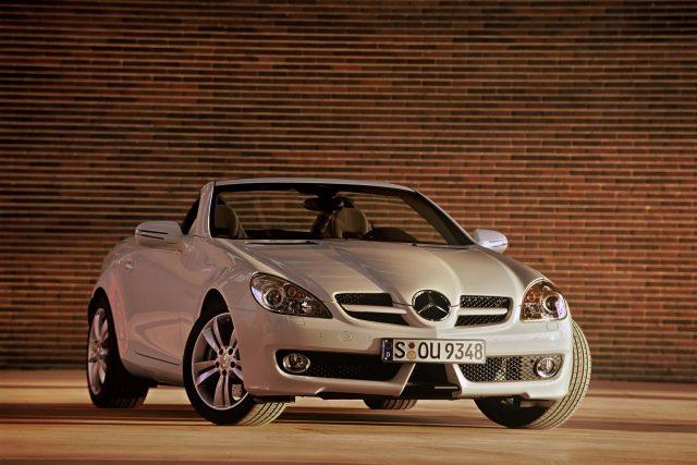 R171 Mercedes-Benz SLK facelift - front, white