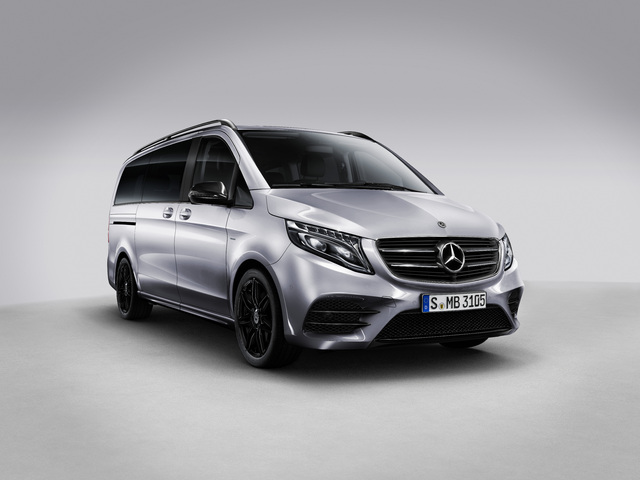 2018 Mercedes-Benz V-Class Night Edition