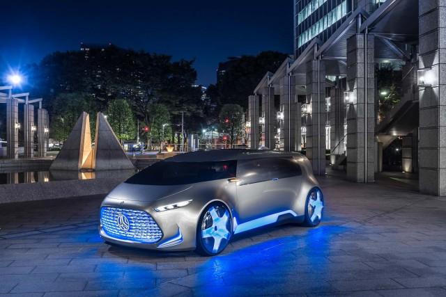 Mercedes-Benz Concept Tokyo 2015 - front