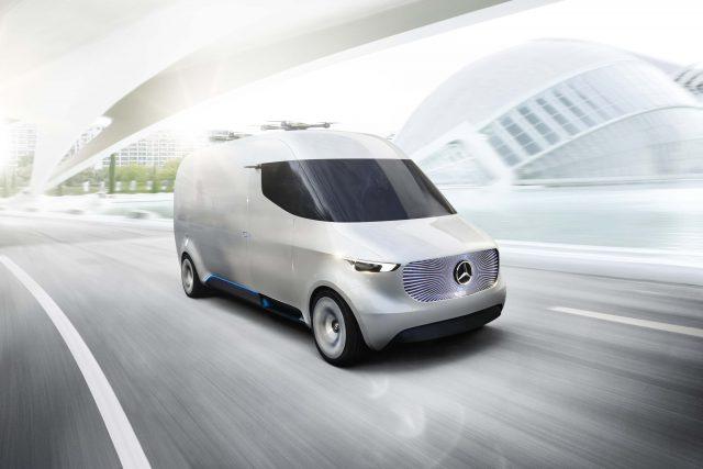 Mercedes-Benz Vision Van - front