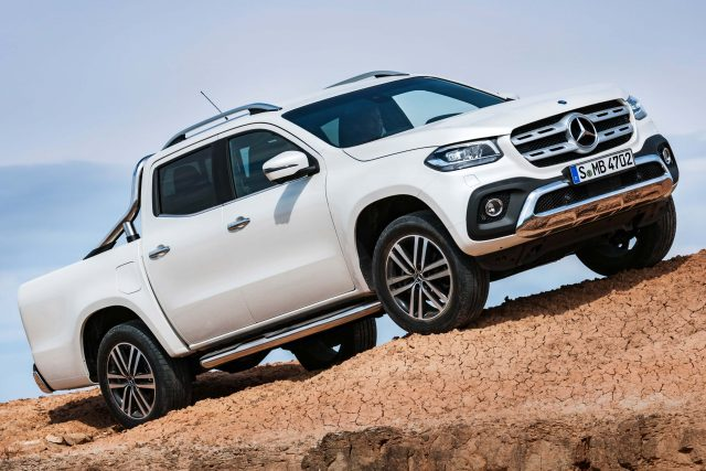 2017 Mercedes-Benz X-Class Power - front, white