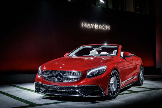 R217 Mercedes-Maybach S650 Cabriolet - front, launch, red