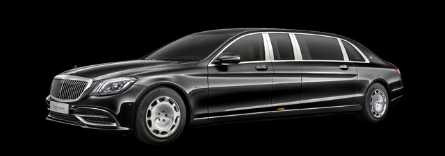 2018 Mercedes-Maybach S650 Pullman facelift