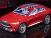 Mercedes-Maybach Ultimate Luxury Concept - front, on stage