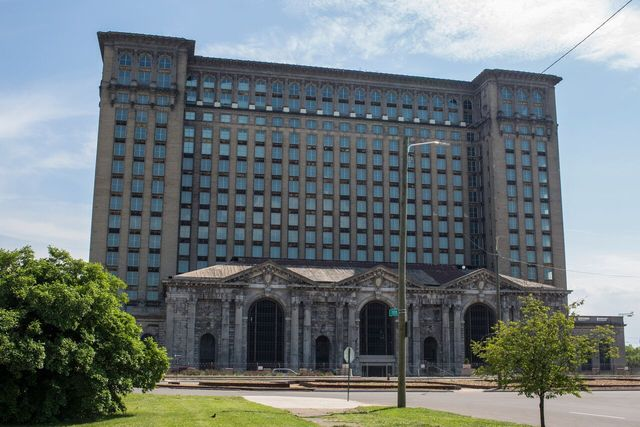 Michigan Central Station, present day