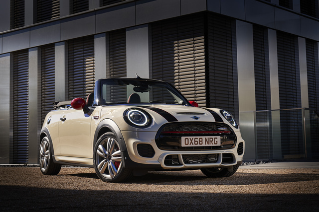 Mini Convertible Jcw 2019 Facelift F57 Third Generation Photos