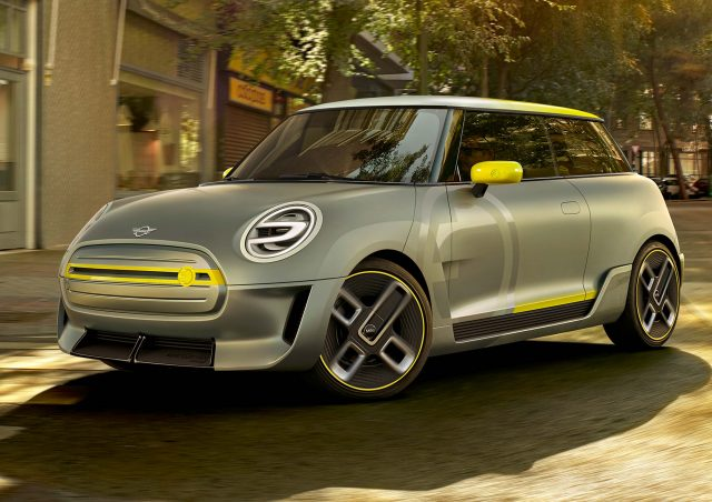 2017 Mini Electric Concept - front