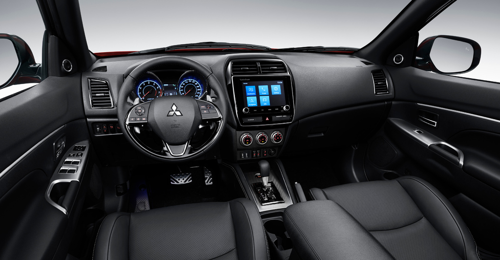 2020 Mitsubishi ASX facelift