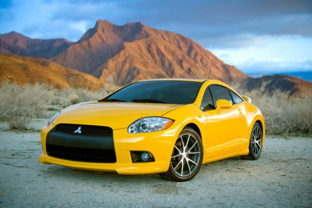 Mitsubishi Eclipse Gt Coupe 2010 Fourth Generation Usa Yellow