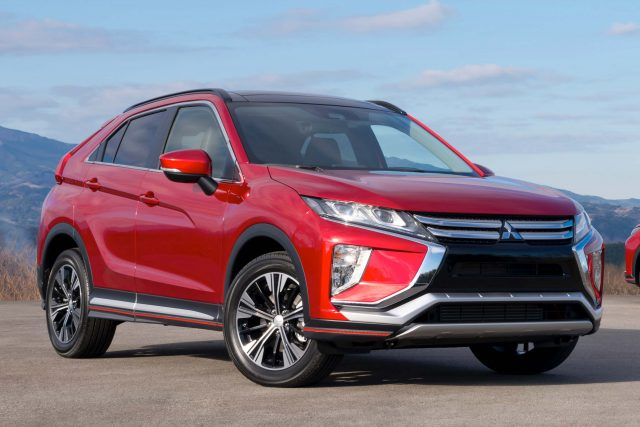 2018 Mitsubishi Eclipse Cross - front, red