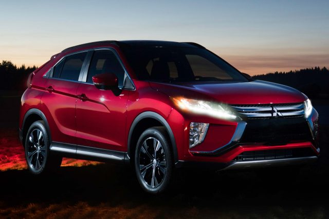 2018 Mitsubishi Eclipse Cross Shot In Shadow Of 2017 Solar Eclipse