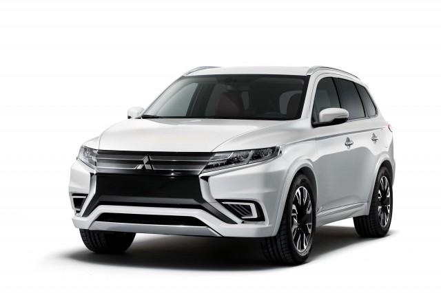 Mitsubishi Outlander PHEV Concept-S - front