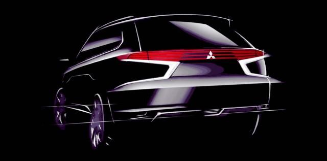 Mitsubishi Outlander PHEV Concept-S sketch