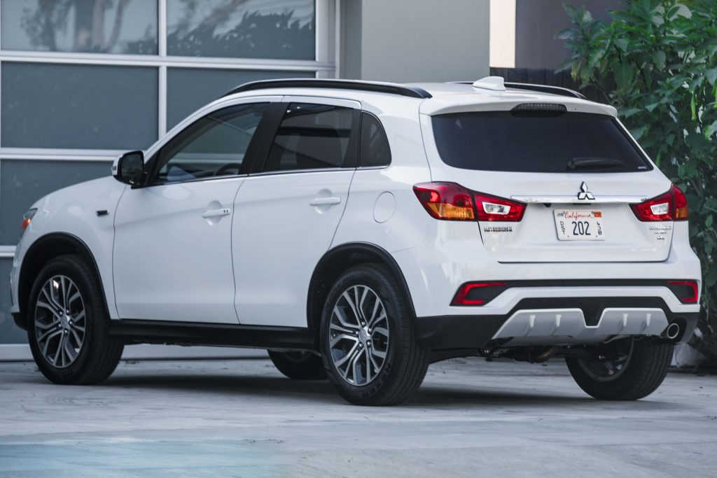 2018 Mitsubishi Outlander Sport - rear, white