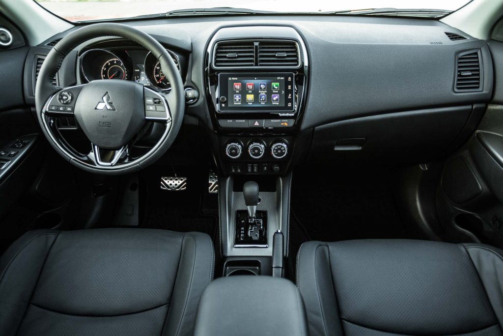 2018 Mitsubishi Outlander Sport - interior, black