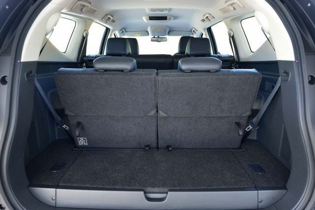Mitsubishi Pajero Sport (third generation) - seats up