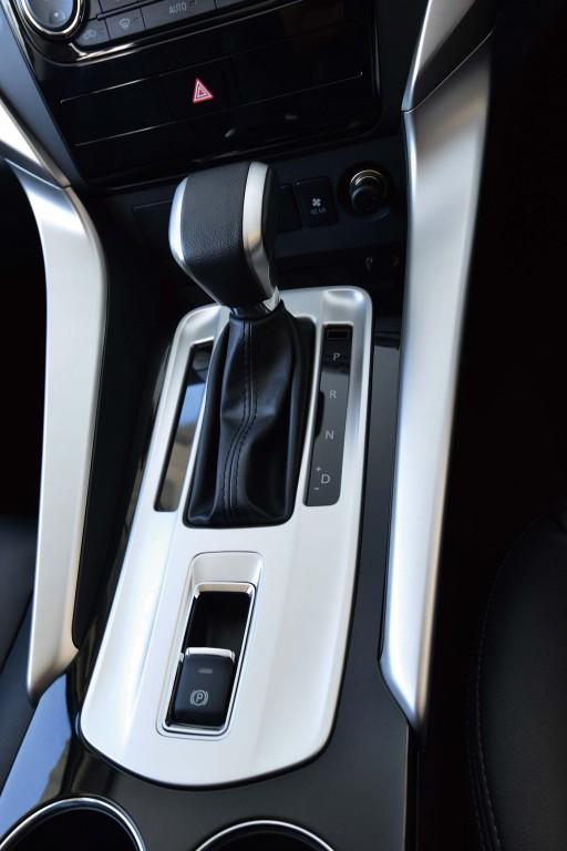 Mitsubishi Pajero Sport (third generation) - RWD transmission