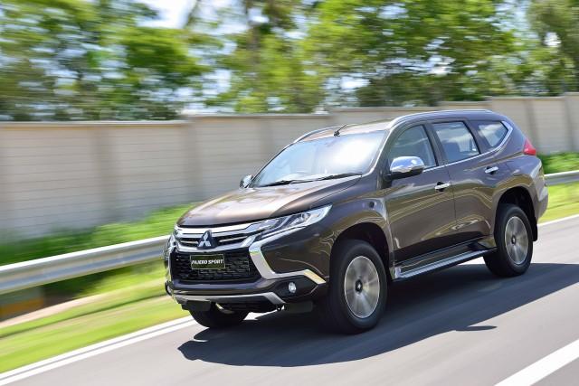 Mitsubishi Pajero Sport (third generation)