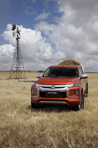 2019 Mitsubishi Triton facelift