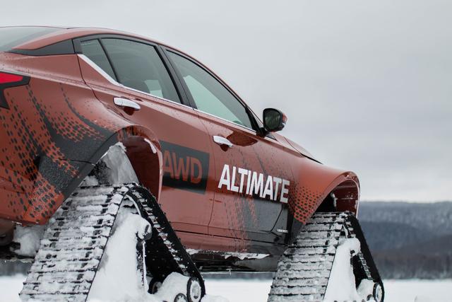 Nissan Altima-te AWD project vehicle