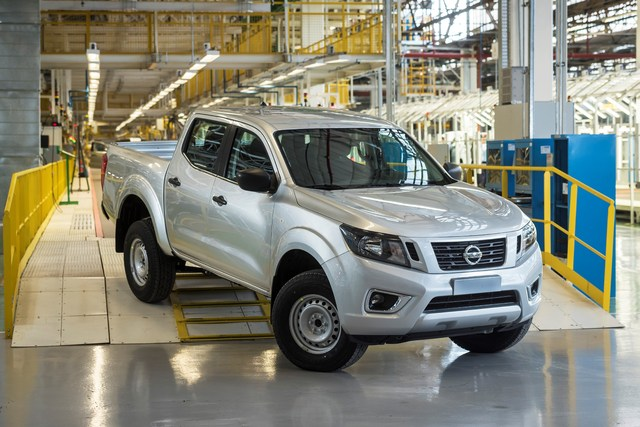 2019 Nissan Frontier production in Cordoba, Argentina