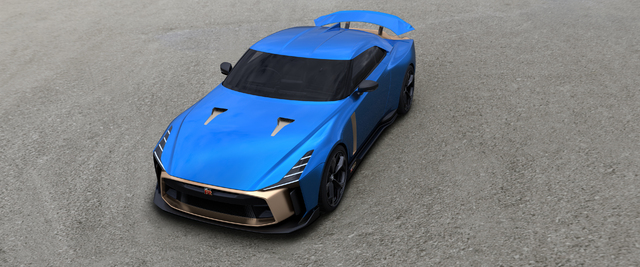 Nissan GT-R50 by Italdesign production design confirmed