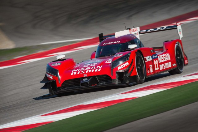 2017 Nissan Gt R Lm Nismo Front Race Track Action