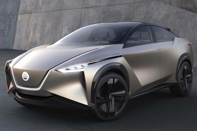2018 Nissan IMx Kuro Concept - front