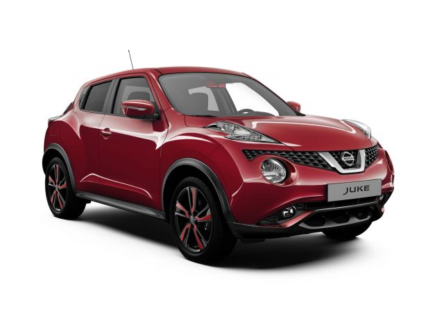 2016 Nissan Juke Dynamic Front Red