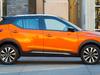 2018 Nissan Kicks - side, orange