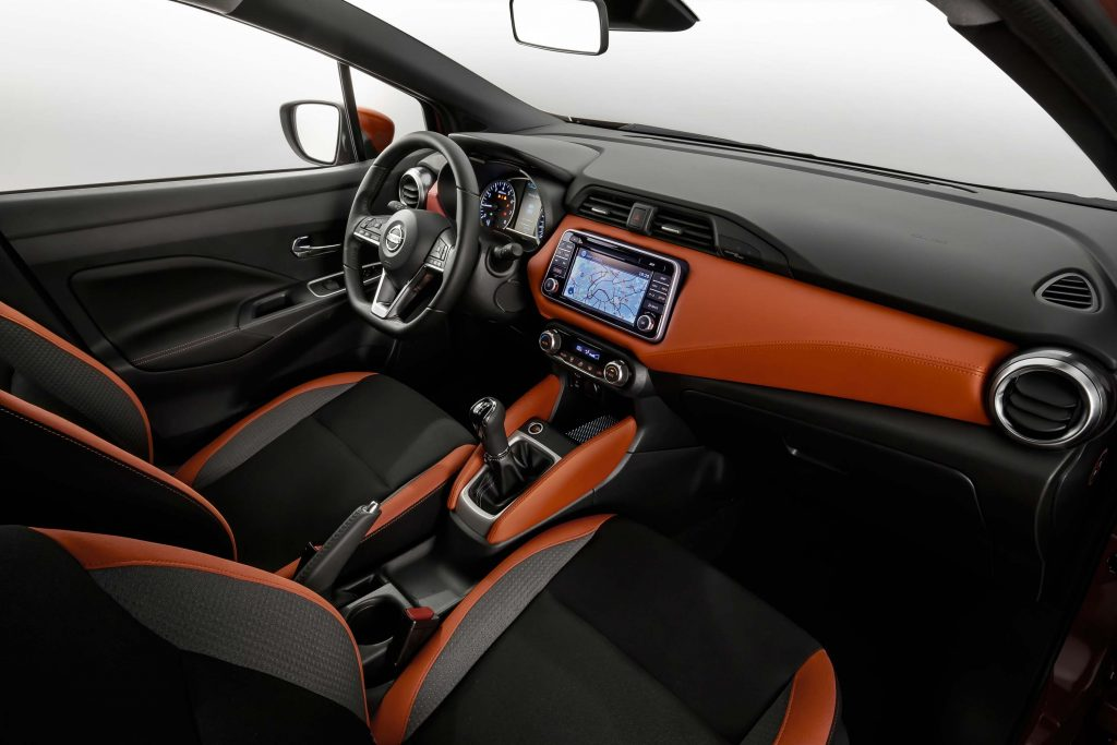 K14 Nissan Micra - interior, dashboard