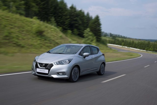K14 Nissan Micra - front, silver