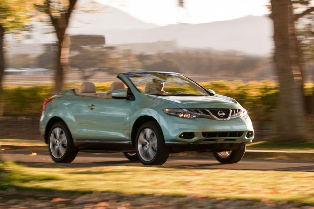 2011 Nissan Murano CrossCabriolet (Z51) - front
