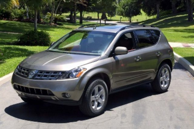 Z50 Nissan Murano - front