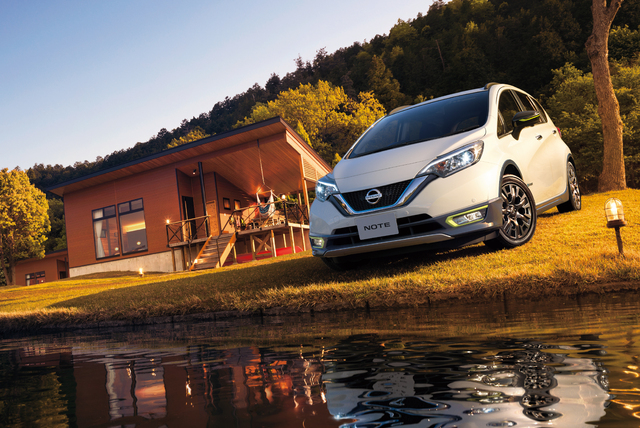 2017 Nissan Note facelift