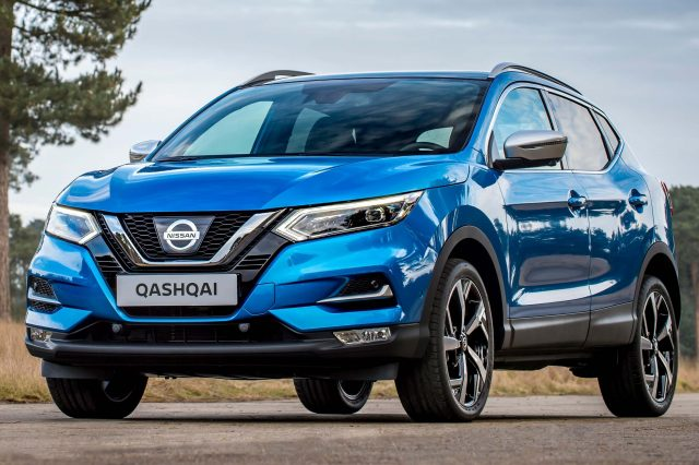 2017 Nissan Qashqai facelift - front, blue