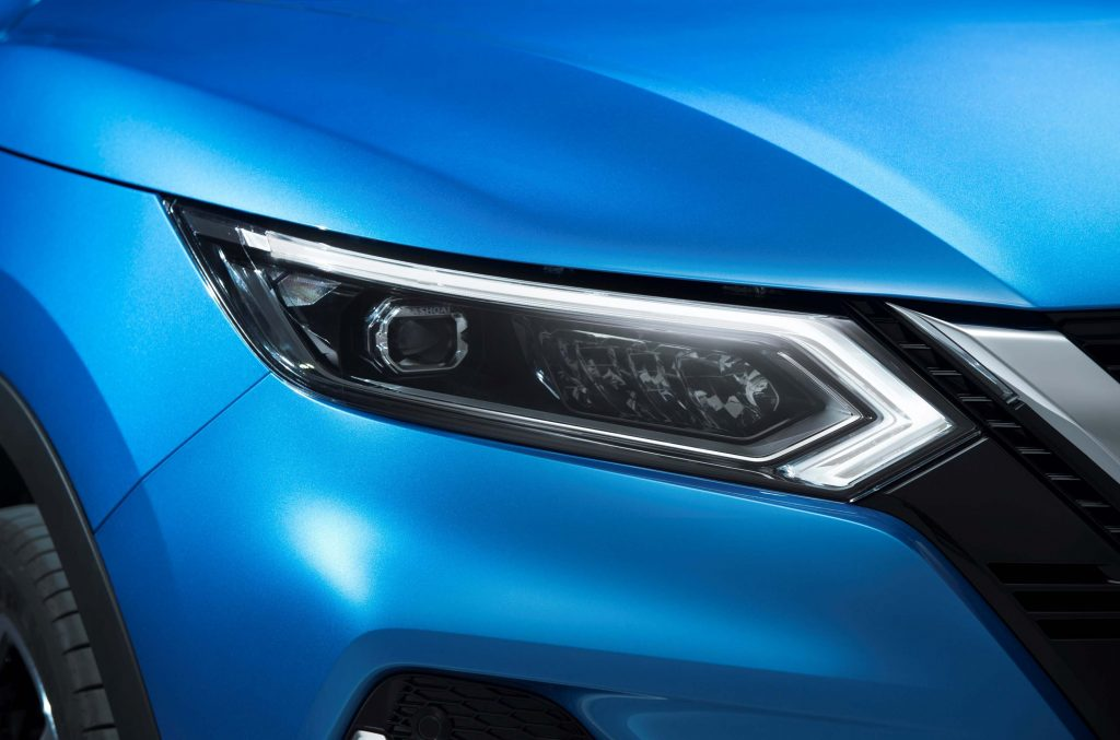2017 Nissan Qashqai facelift - new headlamps