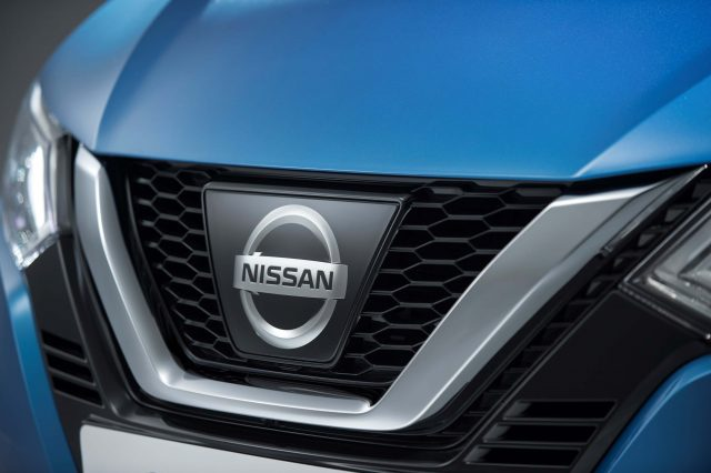 2017 Nissan Qashqai facelift - V-motion gille