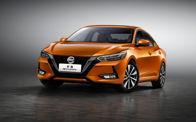Nissan Slyphy (2020, B18, fourth generation, China) photos | Between the Axles