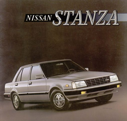 Lexus Diplomatic Sales: Nissan Stanza (1981-1986, T11, Second Generation, USA