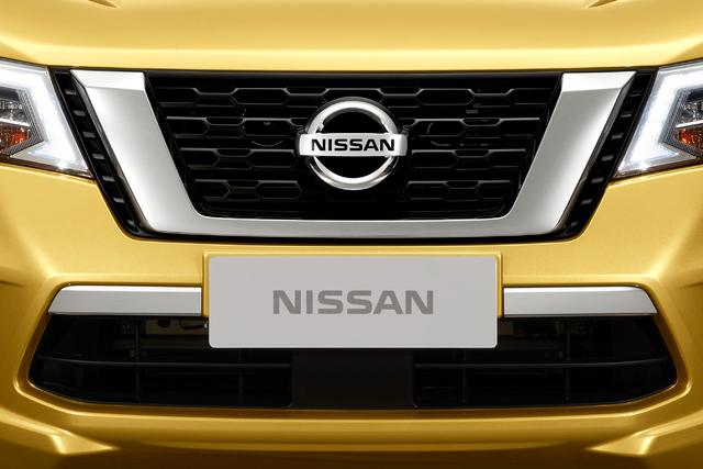 2018 Nissan Terra - V-motion grille