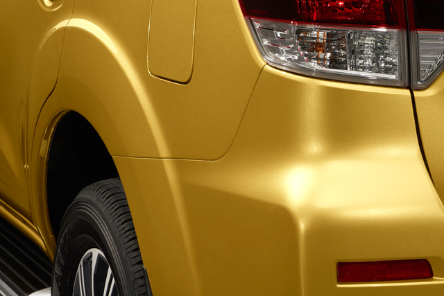 2018 Nissan Terra - rear fenders