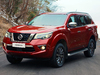 2018 Nissan Terra - red, front