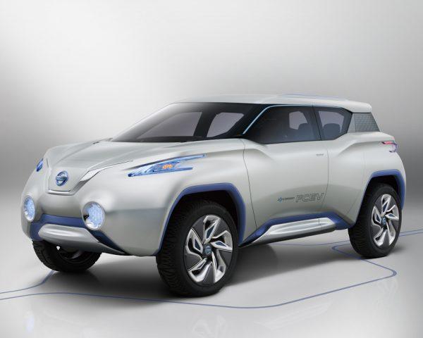 Nissan Terra concept - front