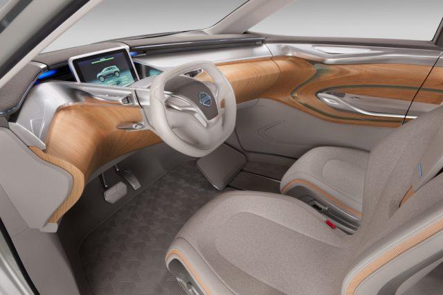 Nissan Terra concept - interior, dashboard