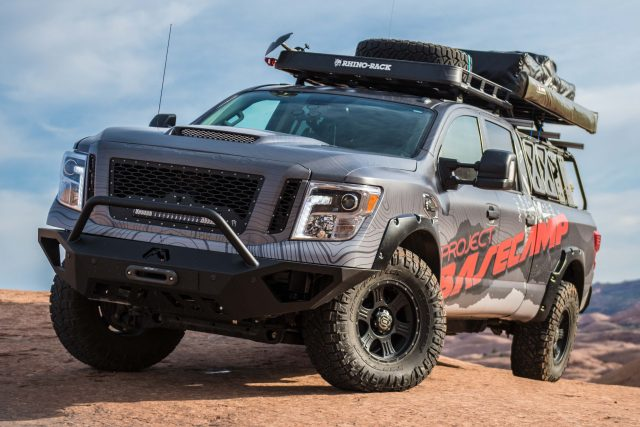 Nissan TITAN XD PRO-4X Project Basecamp - front