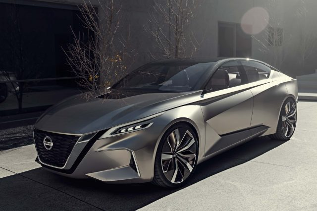 2019 Nissan Altima Edgy New Sedan Previewed By Vmotion 2 0